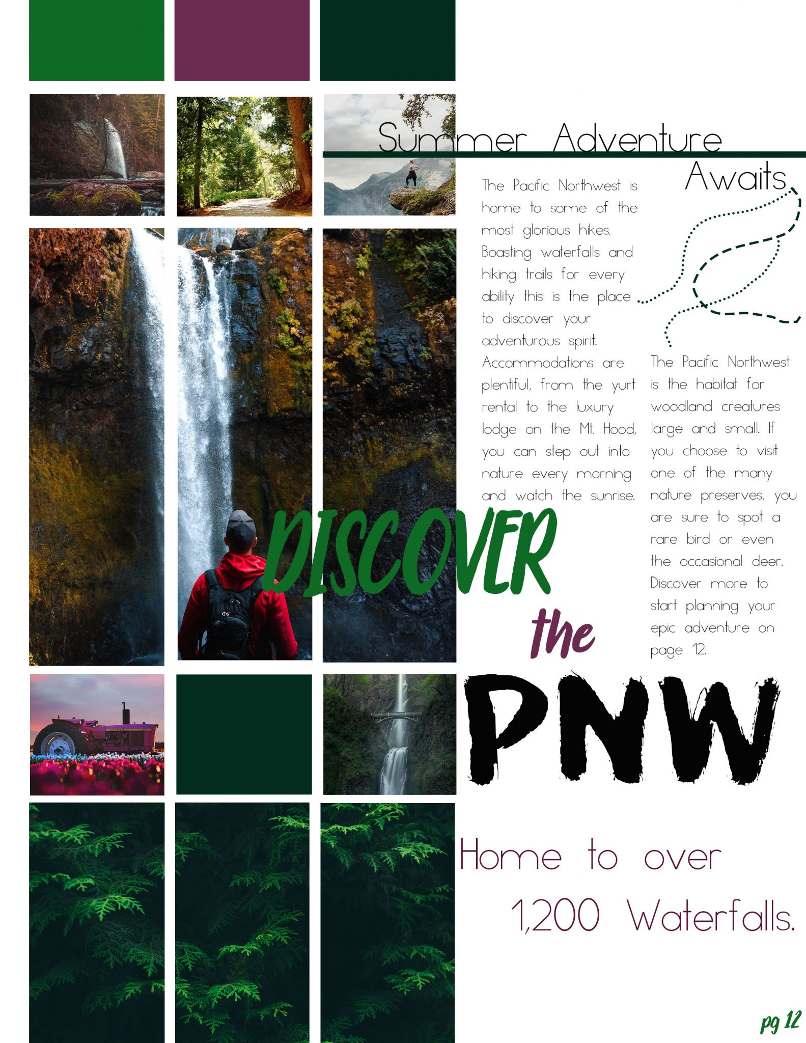 Travel Page Layout